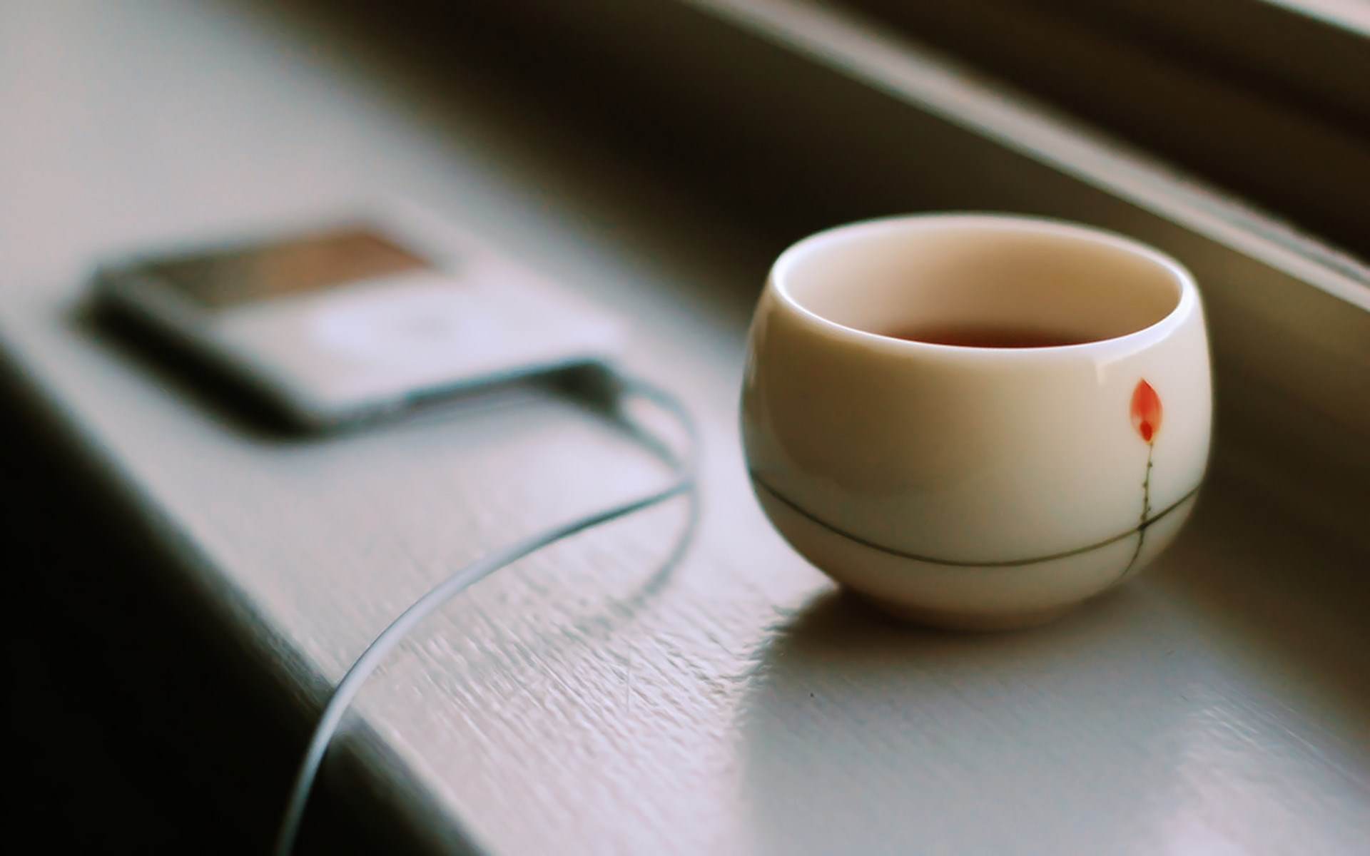 ipod-cup-tea-window-ledge-hd-wallpaper